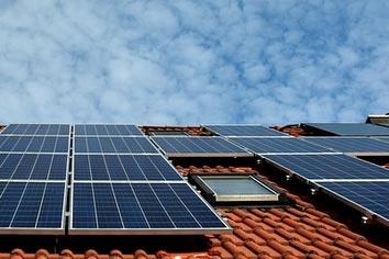 exemples de différents types de panneaux photovoltaïques